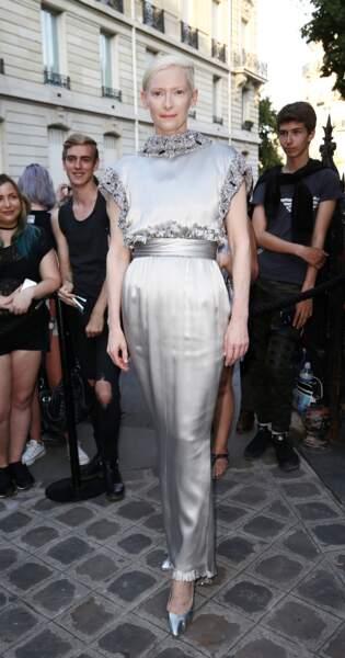 Dîner de la Fondation Vogue - Tilda Swinton