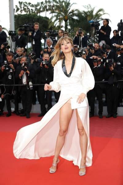 Festival de Cannes : Petra Nemcova dévoile ses dessous