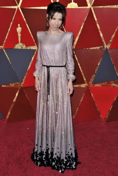 Sally Hawkins à la 90e cérémonie des Oscars, à Los Angeles le 4 mars 2018