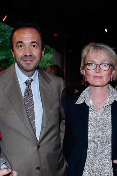 Claude Chirac était au bras de son époux, Frédéric Salat-Baroux