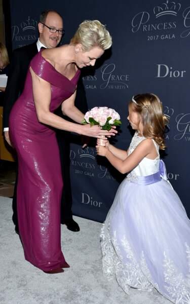 Princess Grace Awards : Albert de Monaco, Charlène de Monaco et Sloane Levy
