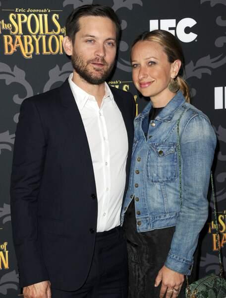 Tobey Maguire et Jennifer Meyer