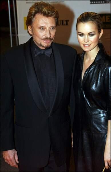 2003 - So chic en total look noir, les amoureux assurent sur le red-carpet
