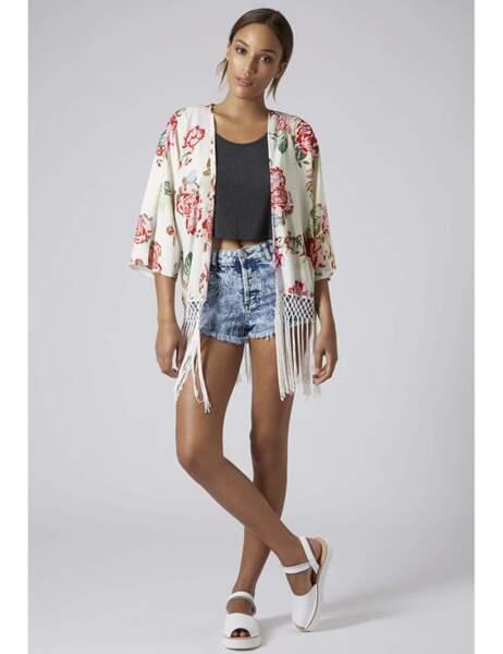 Kimono Topshop : 64€