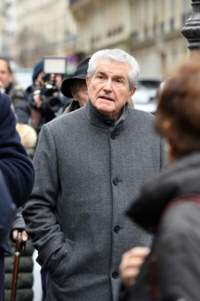 Obsèques de Michel Legrand à Paris : Claude Lelouch
