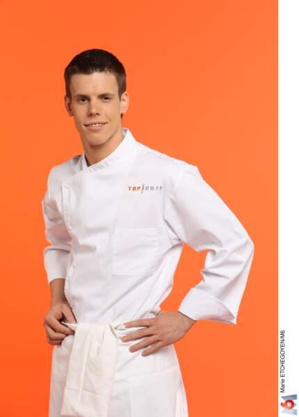 David Gremillet, 23 ans, Poissy / Sous-chef de l'hôtel-restaurant L'Esturgeon