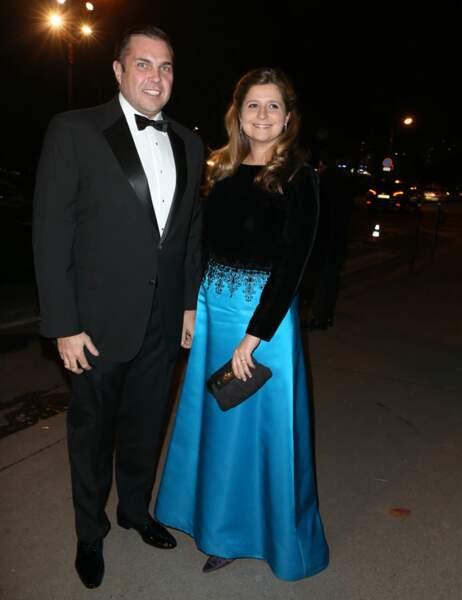 Charles-Philippe d'Orléans et sa femme