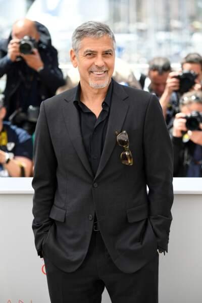George Clooney, mister Cool est sur la Croisette