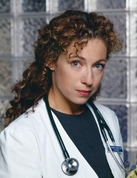 Alex Kingston était le Dr Elisabeth Corday, l'épouse de Mark Greene