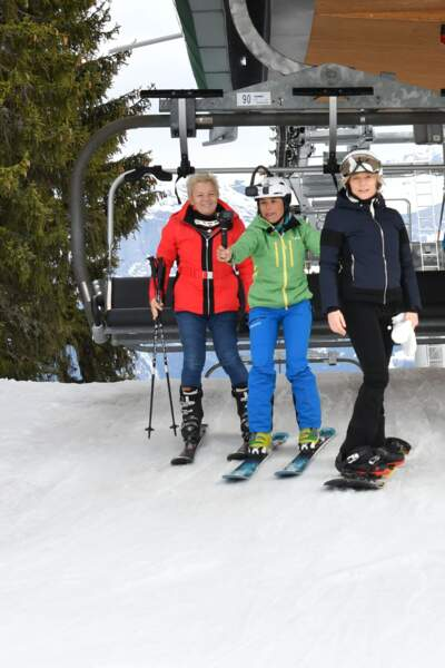 Caroline Vigneau et Catherine Salvador au 35ème festival Mont-Blanc Humour