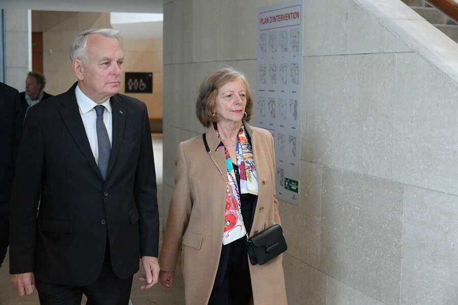 Jean-Marc Ayrault et son épouse à l'hommage à Agnès Varda