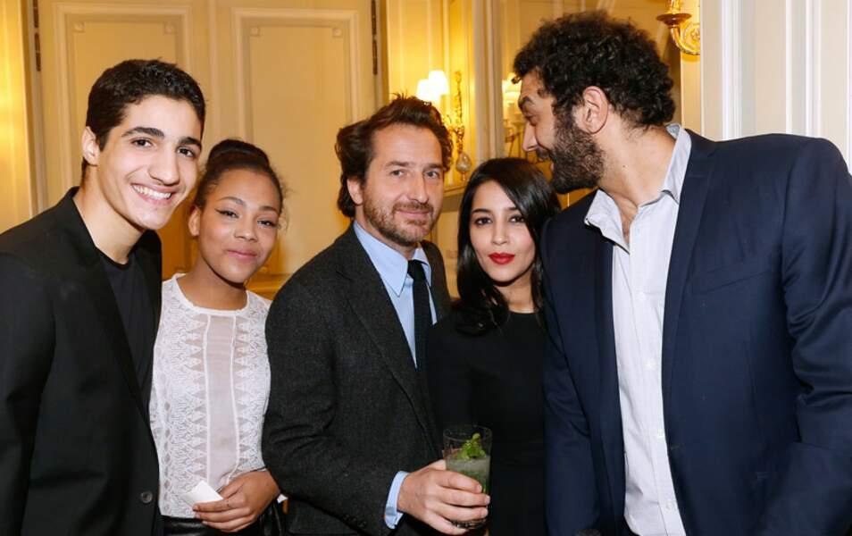 Zinedine Benchenine, Chloé Lecerf, Edouard Baer, Leïla Bekhti et Ramzy