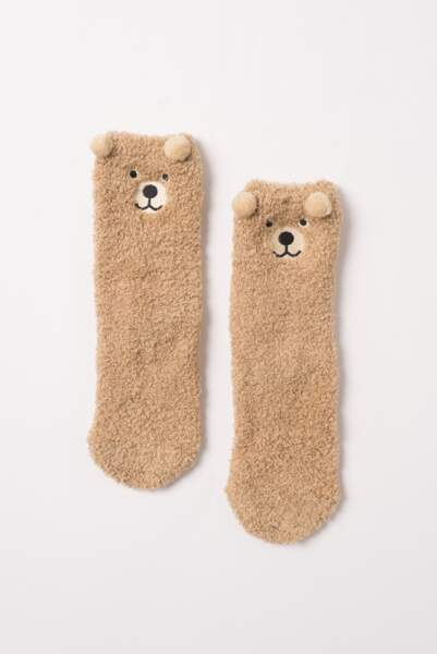 Chaussettes ourson Subdued : 10€
