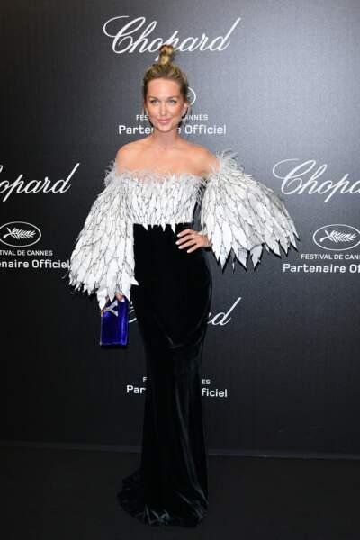 Dasha Yanina lors de la soirée Chopard organisée au festival de Cannes le 17 mai 2019