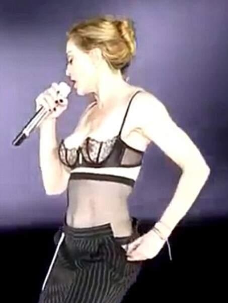 Madonna prête pour un gros dodo ?