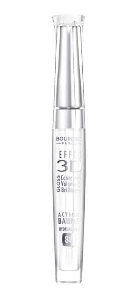 Gloss 3D n°18 Transparent Oniric, Bourjois, 13,50€. On aime : sa tenue longue durée et sa formule hydratante