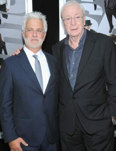 Rob Friedman et Michael Caine