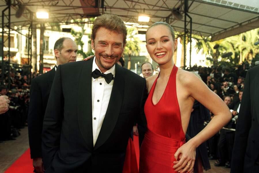1998 - Le couple Hallyday irradie de bonheur sur le tapis rouge