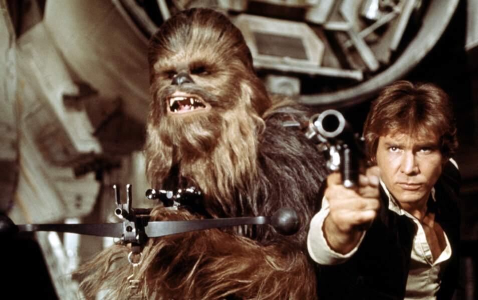 "Chewbacca dans ""Star Wars"" est..."