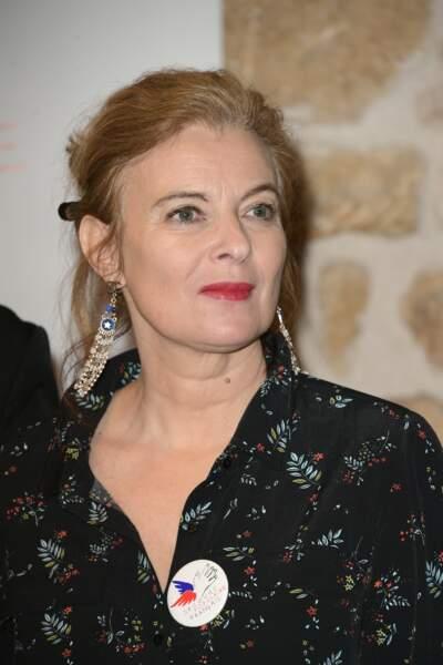 Valérie Trierweiler au tirage national du Don'actions du Secours Populaire