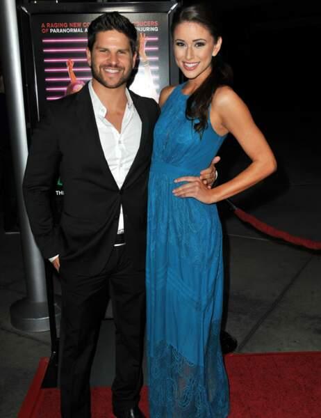 Son petit ami, l'acteur Daniel Booko, est aux anges !