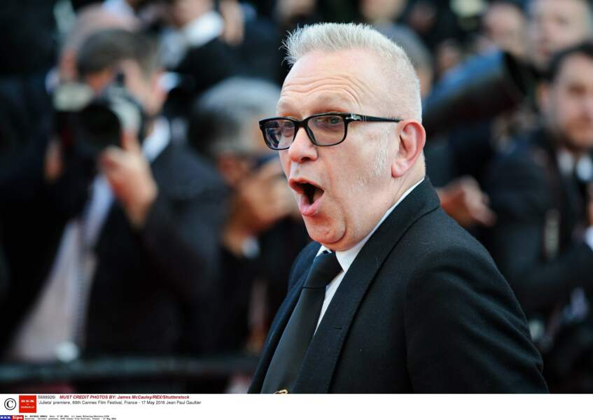 Même Jean Paul Gaultier était très surpris