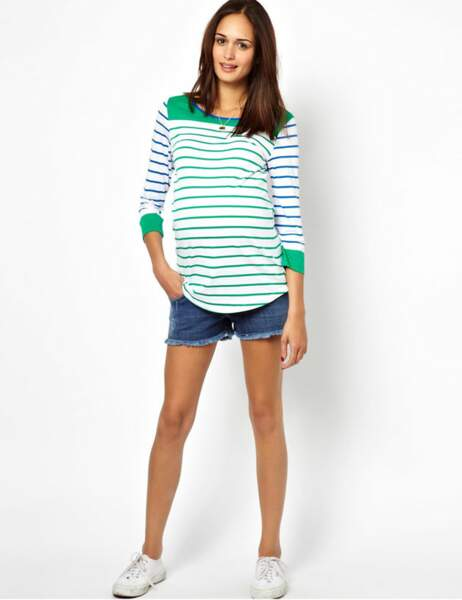 Marinière ASOS femme enceinte : 28,09€