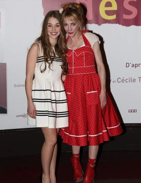 Alice Isaaz et Julie Depardieu