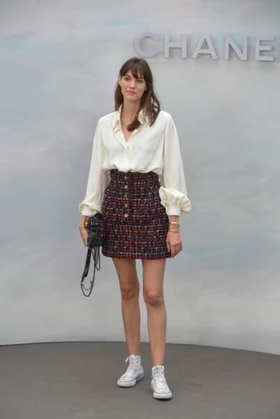 Défilé Chanel : Charlotte Cardin