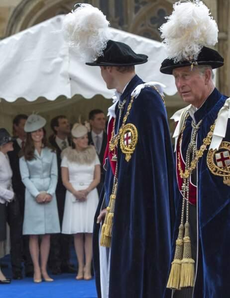 Le duc et la duchesse de Cambridge échangent un regard complice