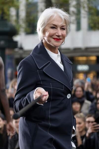 Le Défilé L'Oréal Paris show - Helen Mirren
