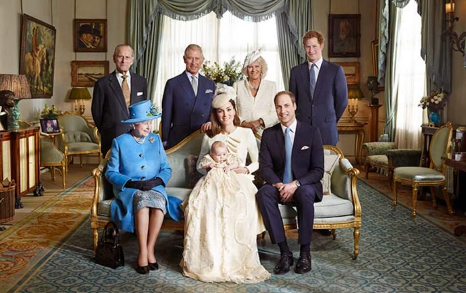 Les photos officielles du baptême du prince George