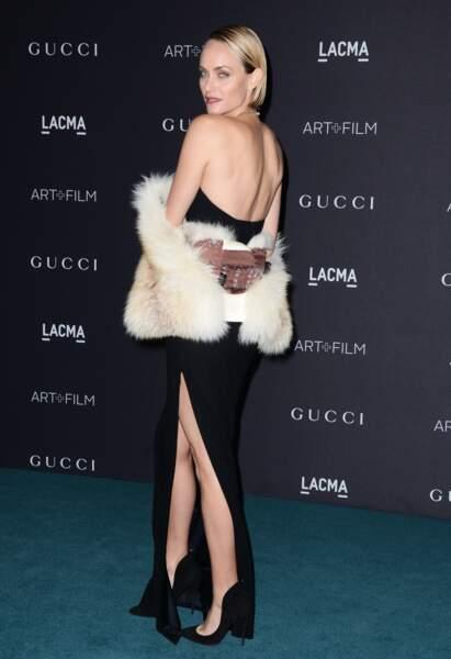 Le mannequin Amber Valletta