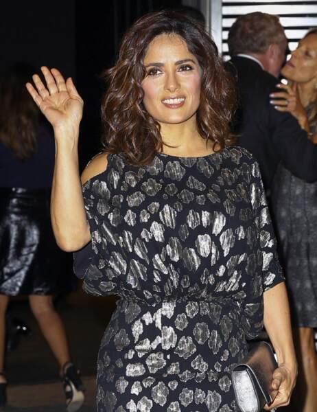 La sublime actrice mexicaine lui avait préféré une coupe plus sage