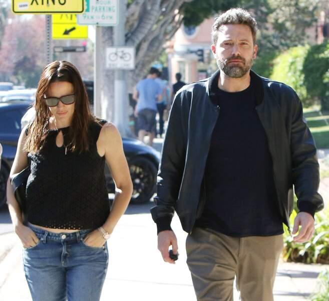 Jennifer Garner et Ben Affleck à Santa Monica
