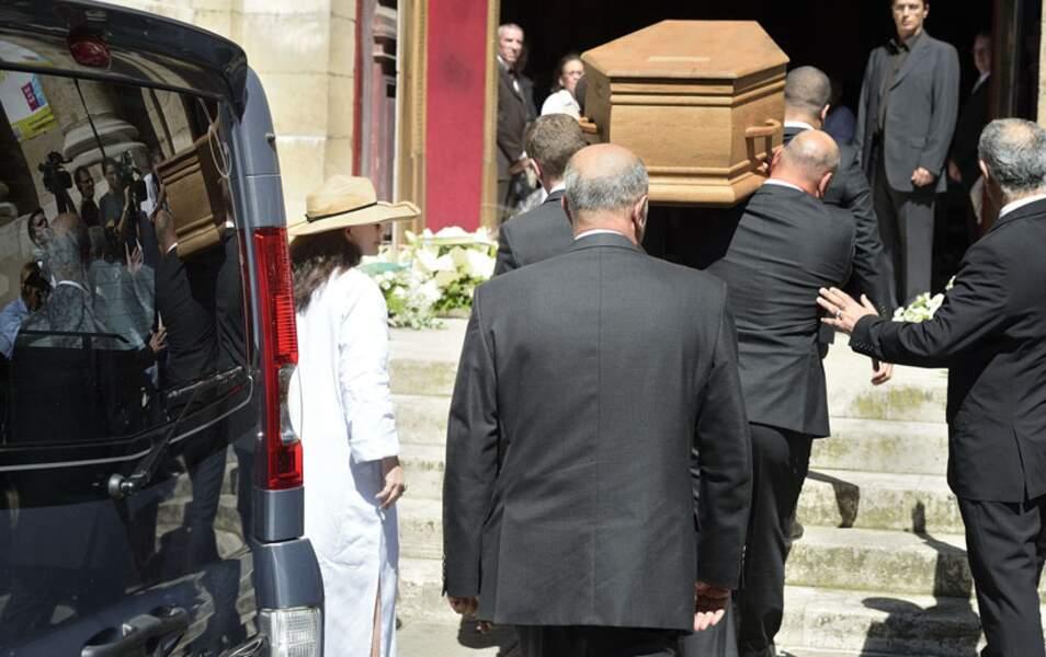 Les obsèques de Jacques Vergès à l'église Saint-Thomas d'Aquin