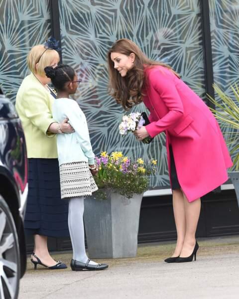 La sollicitude se lit sur le visage de Kate Middleton