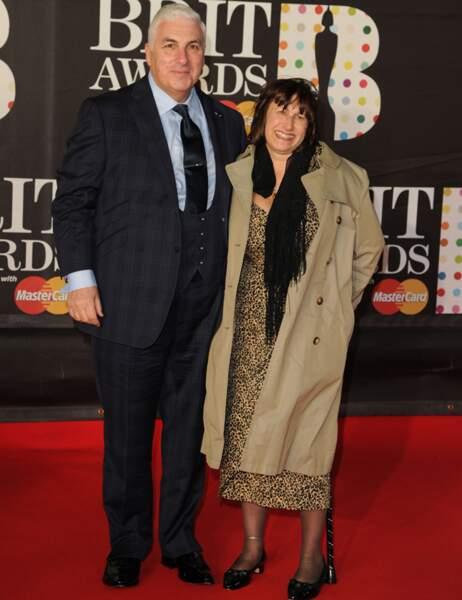 Mitch et Janis Winehouse, les parents d'Amy Winehouse