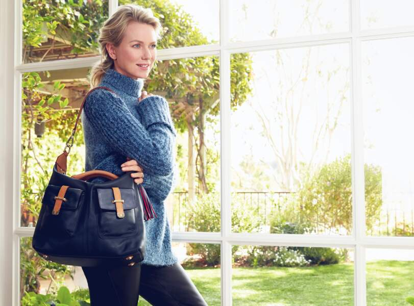 "Naomi Watts ambassadrice du sac Tommy Hilfiger pour la fondation ""Breast Health International"""