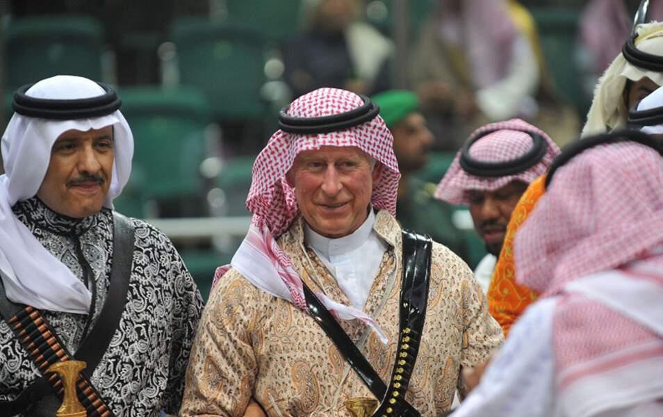 Le prince Charles admire les talents de ses partenaires