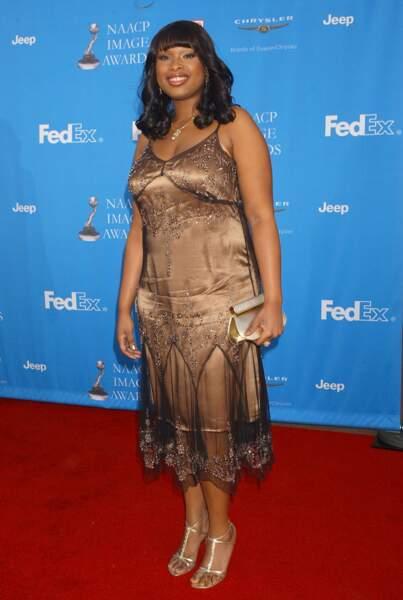 Avant-après ces stars qui ont perdu du poids - Jennifer Hudson avant