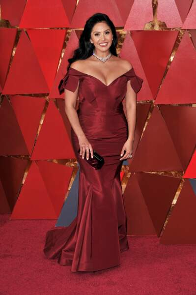 Vanessa Laine Bryant à la 90e cérémonie des Oscars, à Los Angeles le 4 mars 2018