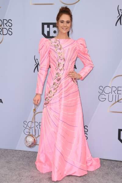 Kate Nash aux SAG Awards 2019, le 27 janvier, à Los Angeles