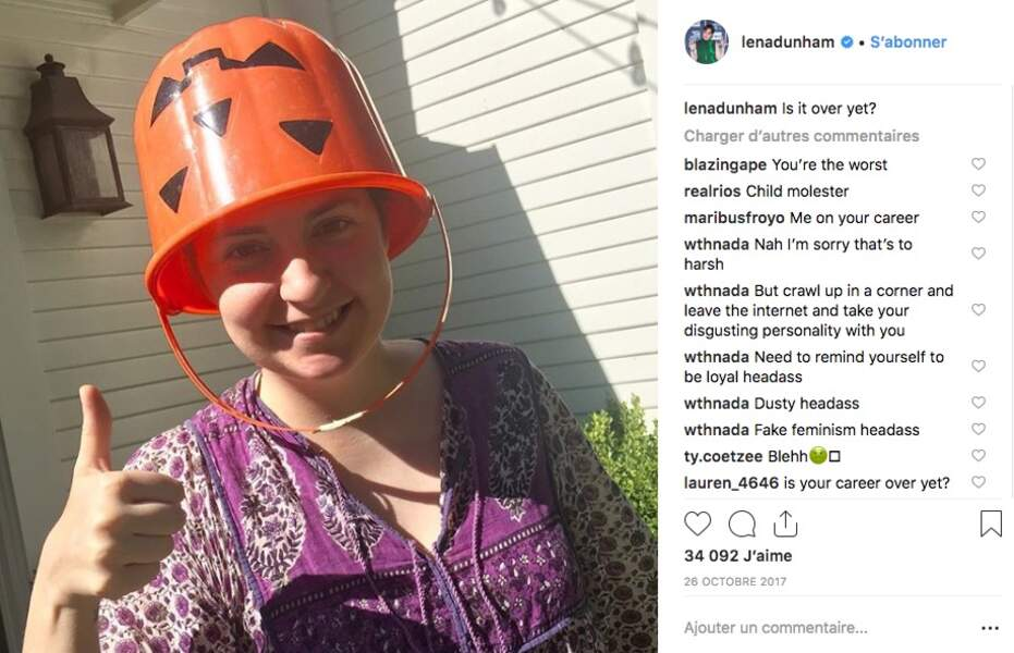 Le meilleur et le pire des costumes d'Halloween des people - Lena Dunham