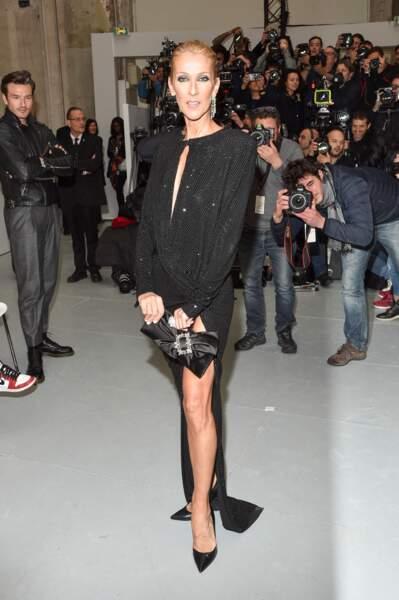 Fashion week couture : le look de Céline Dion au défilé Alexandre Vauthier