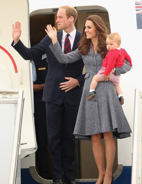 Famille exemplaire, ils jouissent d'une immense popularité. C'est Diana qui serait fière...