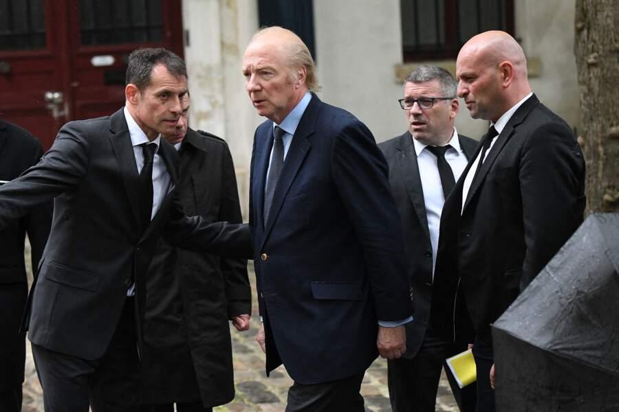 Brice Hortefeux aux obsèques de Dick Rivers à Paris