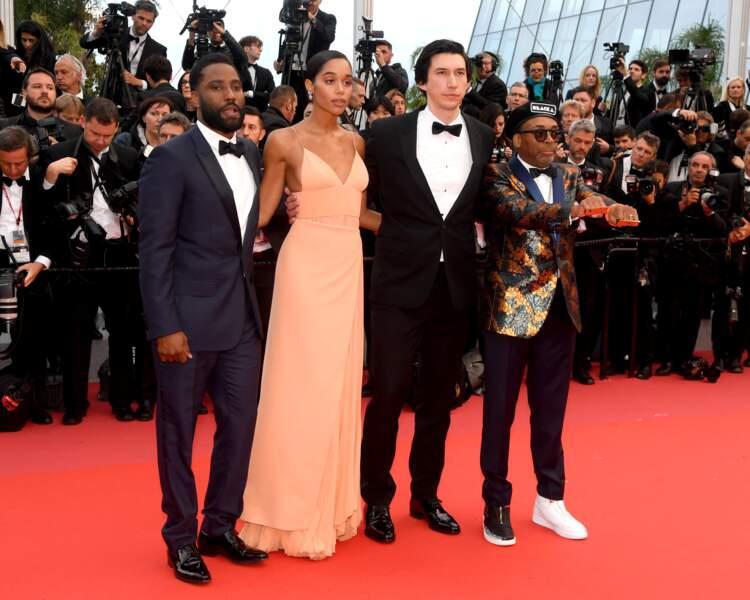 Cannes 2018 - Kristen Stewart envoie valser la bienséance - L'équipe de Blackkklansmann