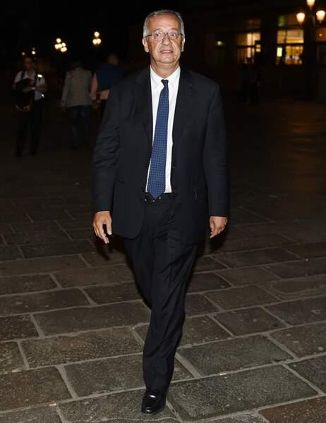Walter Veltroni, l'ancien maire de la ville de Rome