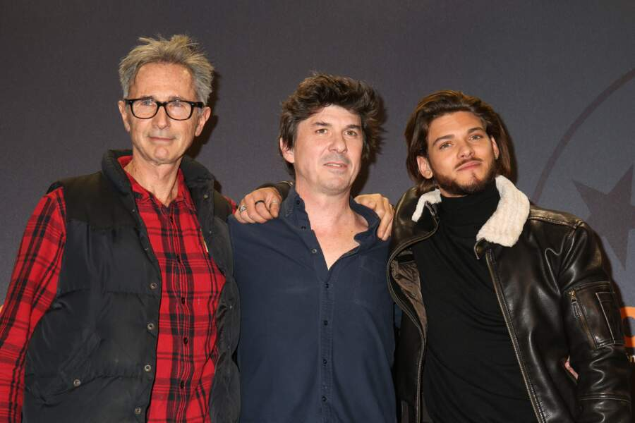 Thierry Lhermitte, Robin Sykes et Rayane Bensetti au Festival international du film de comédie de l'Alpe d'Huez